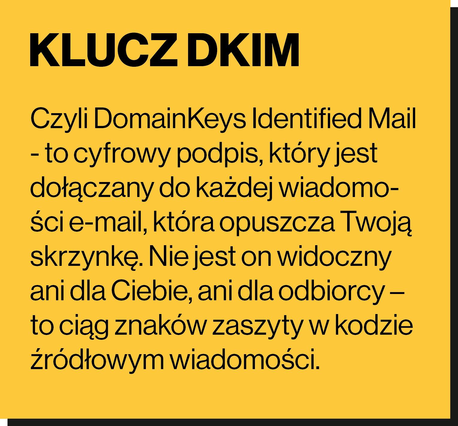 klucz DKIM
