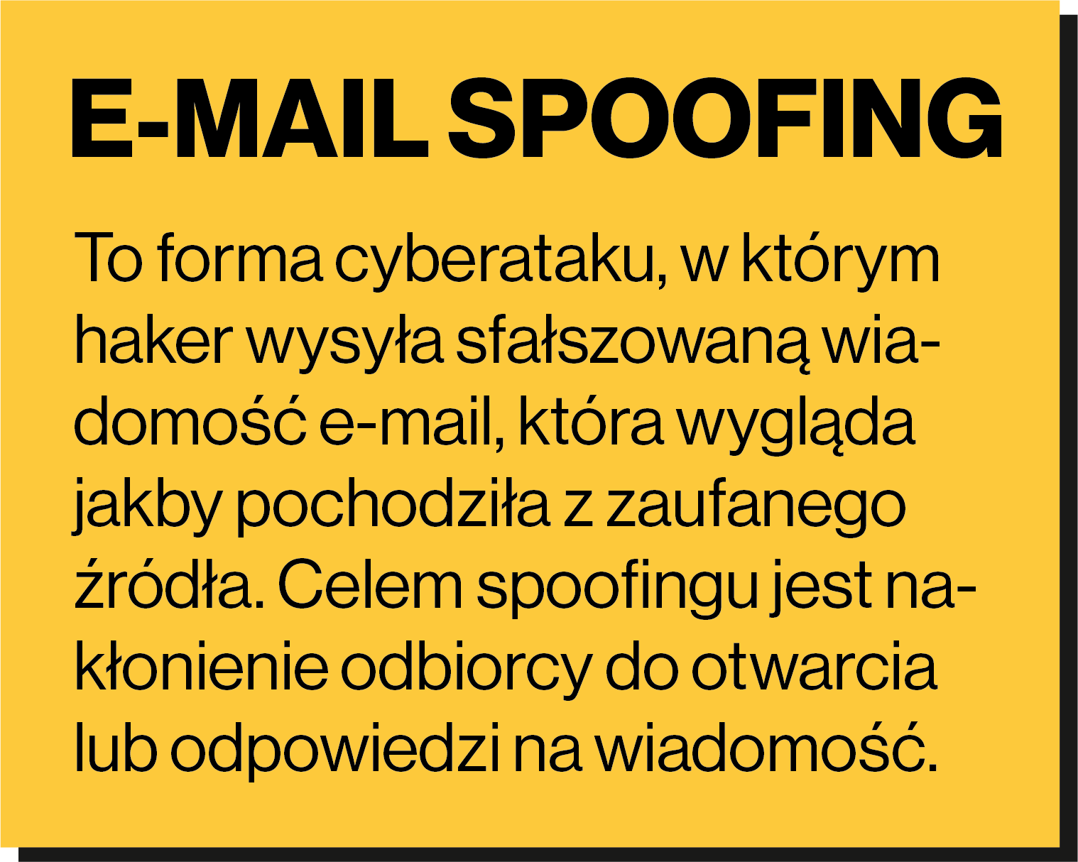 e-mail spoofing
